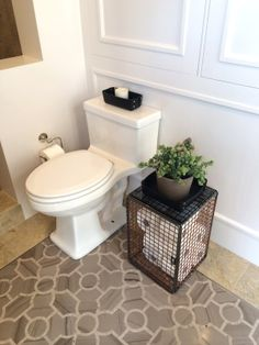 Great storage idea for toilet paper classic • casual • home: SF Decorator Showcase…The Ideas!