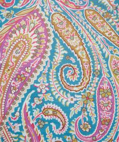 Browse Liberty's luxury fabrics online, for dressmaking or simply looking for fabrics to decorate your home. Paisley Pattern, Paisley Print, Liberty Print, Chair Covers, Fabric Online, Dressmaking, Printing On Fabric, Branding Design, Unique Gifts