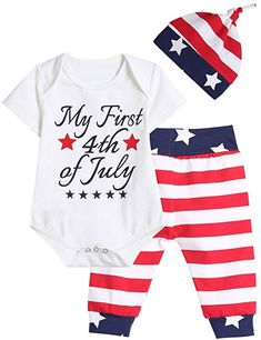 e39ce9d6b 4th of july baby girl outfit - Outfit Set Baby Boy Girls 4th of July  Independence