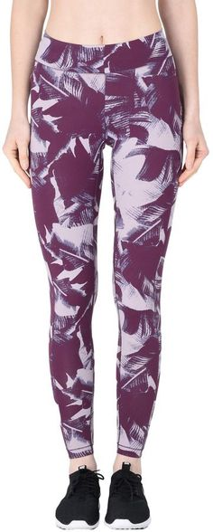 Casall The Palm Print Tights - Women Athletic Pant on YOOX. The best online selection of Athletic Pants Casall. YOOX exclusive items of Italian and international designers - Secure payments Athletic Pants, Athletic Women, Sport Tights, Palm Print, Athletic Fashion, Sport Wear, Leggings Are Not Pants, Sport Outfits, Bag Accessories