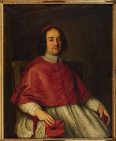 Jacob-Ferdinand Voet, Portrait of Cardinal Decio Azzolino, Auction 1027 Old Masters and 19th Century Paintings, Lot 52