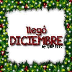 Imagenes+Llego+Diciembre+Para+Compartir Happy Birthday Celebration, Christmas Tree, Christmas Ornaments, Christmas Ideas, Christmas Wallpaper, Holiday Decor, Quotes, Hello December, Merry Christmas
