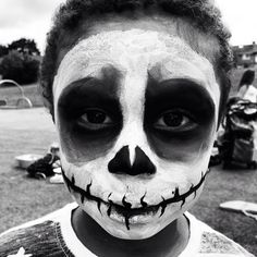 Kids Black And White Face Paint Ideas