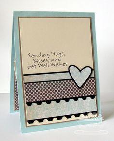 homemade cards - i like this