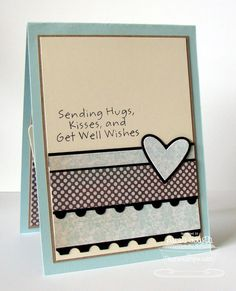 homemade cards - i like this