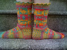 Chuncho socks | Flickr - Photo Sharing!