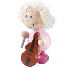 Angel Messenger Tula - $14.95 - This little wooden Christmas angel decoration will be a favourite with this Christmas with its little angle hair curls.  Collect the whole set of 5. #sweetcreations #kids #girls #Christmas #decorations #gifts Christmas Toys, Christmas 2014, Christmas Angels, Christmas Ornaments, Christmas Angel Decorations, Holiday Decor, Angled Hair, Presents, Teddy Bear