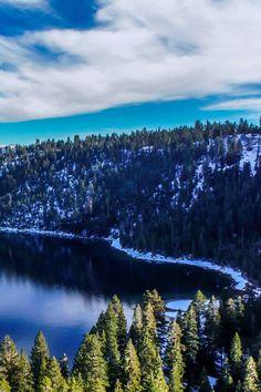 Lake Tahoe in California