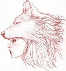 Resultado de imagem para desenhos  tumblr lobo