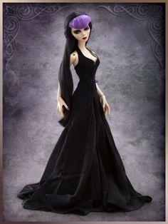 Tonner-Doll-Company-Evangeline-Ghastly-Widows-Walk-COAT-DRESS-ONLY