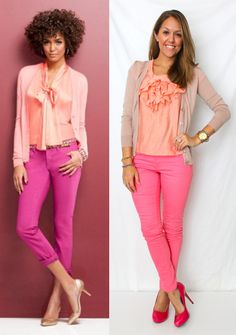 J's Everyday Fashion: Today's Everyday Fashion: Peachy Keen