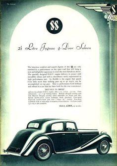 SS 1935 Jaguar Daimler, Jaguar Cars, Sidecar, Concept Cars, Cars And Motorcycles, Britain, Ss, Engineering, Vintage