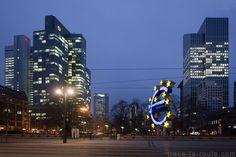 Les tours des banques de #Francfort #Frankfurt #VisitGermany