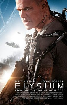 Elysium is another awesome dystopian film from writer and director Neill Blomkamp (District 9) starring Matt Damon. Ships fast. 11x17 inches.