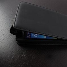 Flip Case Black Huawei Ascend Y300
