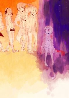 Aw, they found Ayano (Kagerou Project)