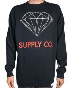 Diamond Supply Co. - Supply Co. Crewneck Sweater $60