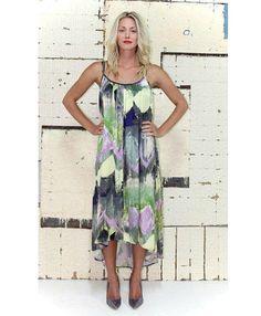Brushstroke Green Maxi Dress | Women's Fashion | Dresses, Tops and more | Et La Mer