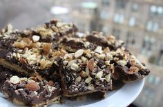 Life's Too Short to Skip Dessert: Holiday Bars 2 (Almond Chocolate Cracker Candy)
