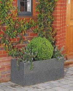Extra Granite Trough 1 GraniteContainerPlantersGarden Ideas