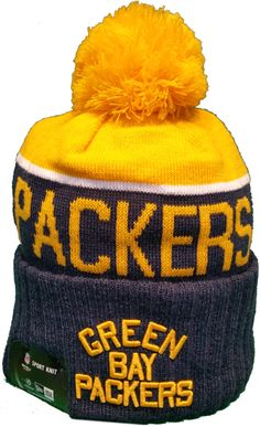 24587d2f5883a Green Bay Packers Vintage Sideline Knit Pom Toque