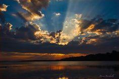Sunrise on the bay Presque Isle State Park, Sunrise Pictures, Good Morning Sunshine, Lake Erie, Beautiful Sunrise, State Parks, Beautiful Places, Scenery, Earth
