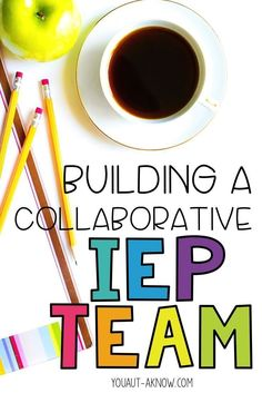 Being part of an IEP team is all about collaboration among team members. Read about how I collaborate with service providers in my Special Education classroom in this post.