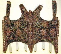 Bodice of Eva Thokoly, from 1620
