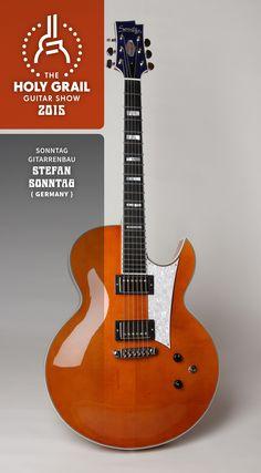 Exhibitor at the Holy Grail Guitar Show 2015: Stefan Sonntag, Sonntag Gitarrenbau, Germany. http://www.sonntag-guitars.com  http://holygrailguitarshow.com/exhibitors/sonntag-gitarrenbau/