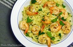 Lemon Pepper Shrimp Scampi ... kid-friendly and ready in under 20 minutes!
