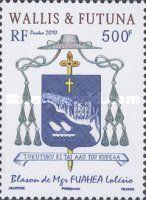 Islas Wallis y Futuna - sellos de correo - 2010-2013