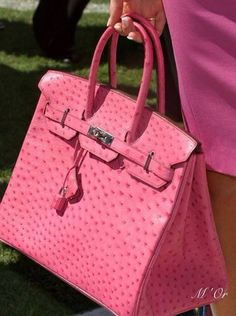 Luxurious Birkin bag by Hermes.....pink!!!!