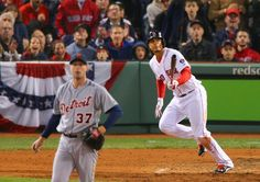 Xander Bogaerts watched his fifth-inning double go off the wall.