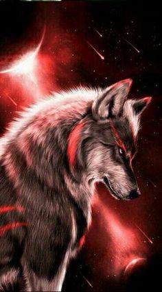 Fantasy wolf wallpaper by georgekev - 13 - Free on ZEDGE™ Tier Wallpaper, Wolf Wallpaper, Animal Wallpaper, Trendy Wallpaper, Wallpaper Pictures, Cool Wallpapers Dark, Beautiful Wallpaper, Galaxy Wallpaper, Anime Wolf
