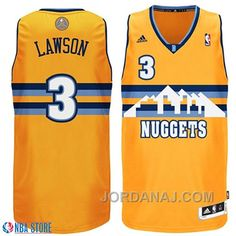 denver nuggets 3 ty lawson revolution 30 swingman 2013 christmas day ... 6a9d7d0a6