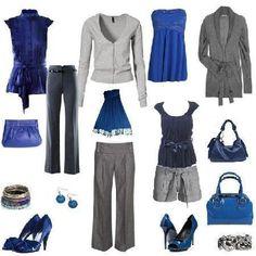 Conoce los colores que mejor combinan | 4LittleDots Diy Fashion, Fashion Outfits, Womens Fashion, Office Outfits, Casual Outfits, Colourful Outfits, Wardrobes, Capsule Wardrobe, Fashion Styles