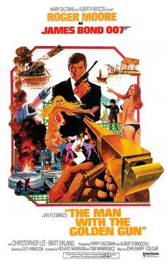 L'Homme au pistolet d'or (The Man with the Golden Gun) est un film britannique réalisé par Guy Hamilton et sorti en 1974. C'est le 9e opus de la série des films de James Bond produite par Albert R. Broccoli et Harry Saltzman, par l'intermédiaire de leur société EON Productions. Roger Moore incarne James Bond pour la seconde fois. C'est le quatrième et dernier film de la série réalisé par Guy Hamilton. L'Homme au pistolet d'or est l'adaptation cinématographique du roman éponyme de Ian Fleming