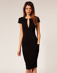 Essential black dress