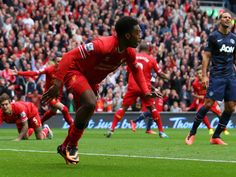 Liverpool Manchester United Match Highlights - Who needs Suarez when Sturridge is in such good form. He scores the match winner and Moyes still can't win at Anfield. Premier League Soccer, Premier League Champions, Barclay Premier League, Liverpool Vs Manchester United, Match Highlights, English Premier League, Liverpool Football Club, Sports Betting, Man United