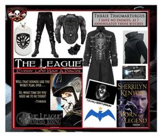 Dress like the former Trisana Commander Thraix Sparda from Sherrilyn Kenyon's League®: Nemesis Rising series.