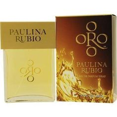 Oro By Paulina Rubio By Paulina Rubio Eau De Parfum Spray 3.3 Oz