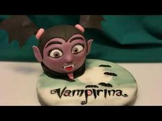 VAMPIRINA Cartoon CAKE in pasta di zucchero - YouTube