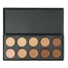 10 Colors Professional Concealer Camouflage Makeup Palette Contour Face Contouring Cream Concealer Foundation Set * Continue to the product at the image link. (Note:Amazon affiliate link) #MakeupPalettes