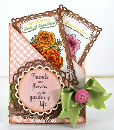 For the love of life: JustRite Papercrafts Seeds of Summer