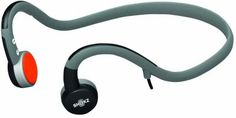 AfterShokz Mobile Open-Ear Headphones with In-Line Mic and Dual Suspension Bone Conduction Technology  #gift #holidays #christmas