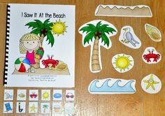 """I Saw It at the Beach"" Adapted Song Book - Click Image to Close"