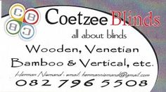 Blinds for your whole house at affordable prices and professional service