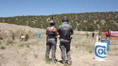 Kate and Jesse Redell from R Bros Rifles wearing MASCOT Lerida knee pad pants and the Northwest Multigun Challenge!