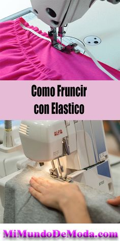 Discover thousands of images about Curso como Fruncir con hilo elasstico aprende trucosde costura ! Sewing Hacks, Sewing Tutorials, Sewing Patterns, Sewing Tips, Sewing Box, Love Sewing, Bias Tape Maker, Sew Ins, Sewing Projects For Beginners