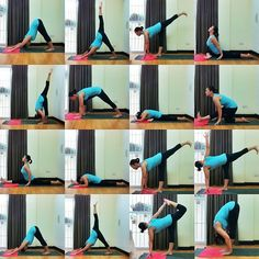 yoga sequence... I want to try yoga